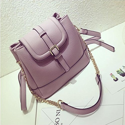 Messenger Beibao High Handbags Simple Handbag Chain capacity Retro Bag Buckets Shoulder qOzwZq