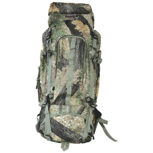 (Extreme Pak Invisible. Pattern Tree Camo Water-Repellent, Heavy-Duty Mountaineer's Backpack)