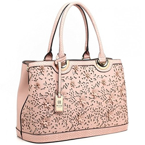Bessie in Dusty BW3208 Bessie London Bag Tote London Pink Tote Bag xqSvwS08t