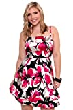 Torrid Plus Size Floral Charms Party Dress