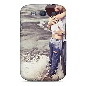 New Style Dana Lindsey Mendez Hard Case Cover For Galaxy S3- Hug In Love