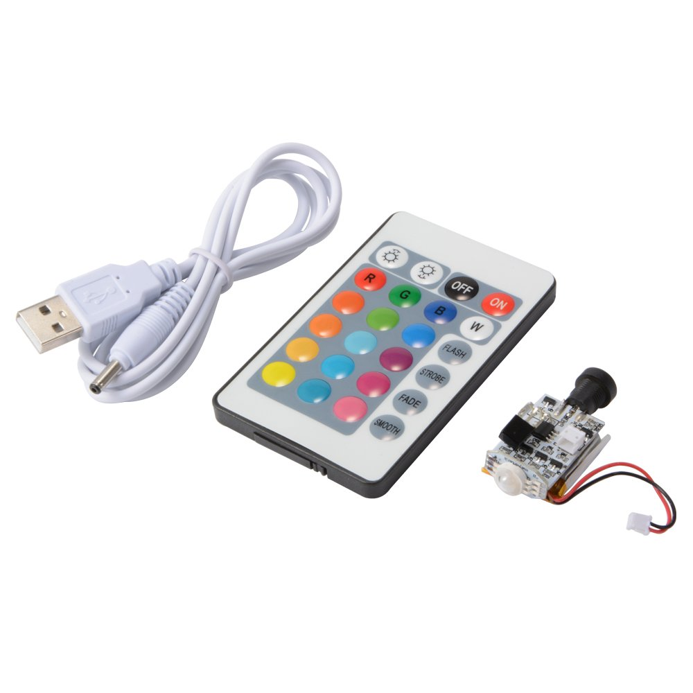 XCSOURCE Night Light Circuit Touch Switch USB Charging Remote Control 16-Color Adjustable for 3D Printing Moon Lamp TE783