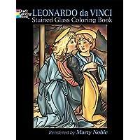 Leonardo Da Vinci Stained Glass Coloring Book