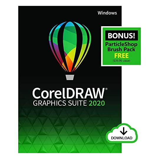 CorelDRAW Graphics Suite 2020 | Graphic Design, Photo, and Vector Illustration Software | Amazon Exclusive includes Free…