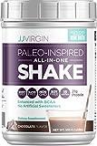 JJ Virgin - Chocolate Paleo-Inspired All-In-One Shakes, 15 Servings 555 G (1.22LBS)
