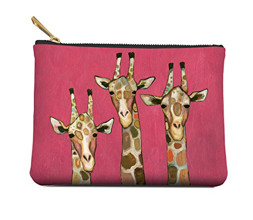 - Studio Oh! Zippered Pouch Available in 8 Designs and 2 Sizes, Medium Majestic Giraffe