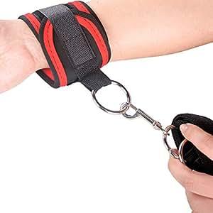 Hook onto bed straps sex