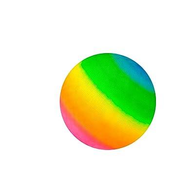 Kicko Rainbow Playground Ball - Pelota gigante de colores neón de ...
