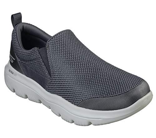 Skechers Men's GO Walk Evolution Ultra-Impeccable Sneaker, Charcoal, 11 M US