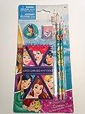 Disney Princess 5 Piece Stationery Set