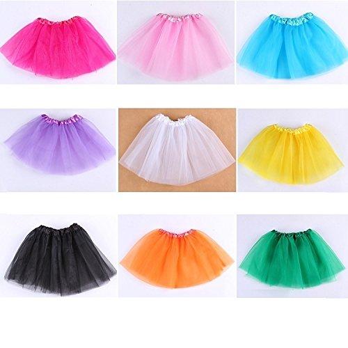 Rose 28 De Bleu Jupe Girl Dancing Mode Soie Courte Ballet 5five Vif Mousseline Robe En 40 8qOAxwf6w