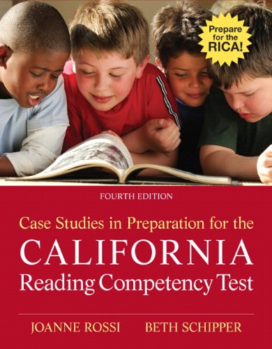 Rossi: Case Stud Prep Cali Read Co_4 (4th Edition)