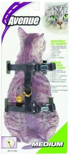 Avenue Nylon Adjustable Cat Harness, Medium