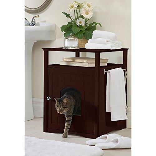 Furniture Walnut Finish Comfort Kitty