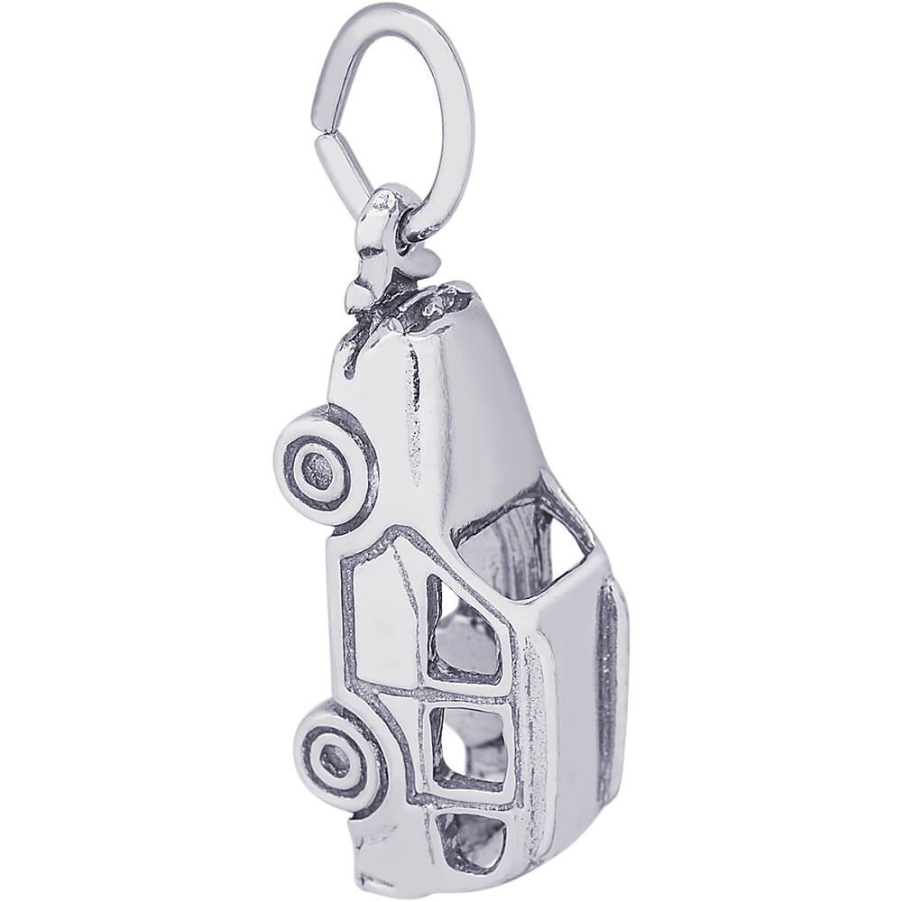 Rembrandt Charms SUV Charm, Sterling Silver by Rembrandt Charms (Image #1)