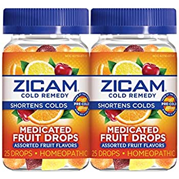 Amazon Com Zicam Cold Remedy Medicated Fruit Drops
