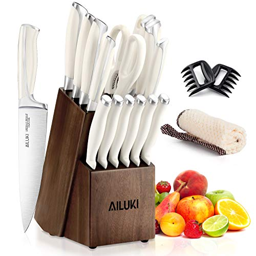Kitchen AILUKI Stainless Ergonomic Cooking product image