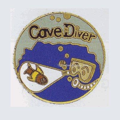 Trident Cave Diver Collectible Scuba Diving Pin Diver Collectible Scuba Diving Pin