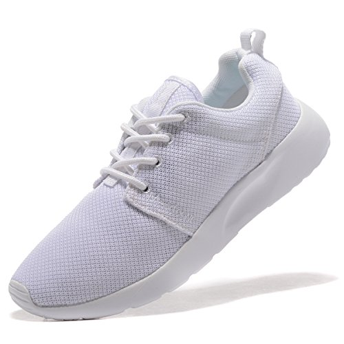 Image of MANTOONE Men's Women's Sports Running Shoes Fashion Breathable Mesh Soft Sole Casual Athletic Lightweight Unisex Sneakers