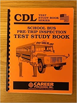 Amazonin Buy Cdl School Bus Pre Trip Inspection Test Study Book