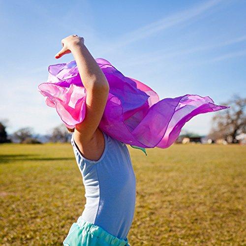 Sarah's Silks Enchanted Playsilk available in Rainbow Starry Night Blossom Fire Sea