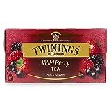 Twinings Wild Berry Tea (International Blend) - 25 Envelopes (Pack of 6)