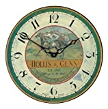 Roger Lascelles Country Races Wall Clock, 14.2-Inch