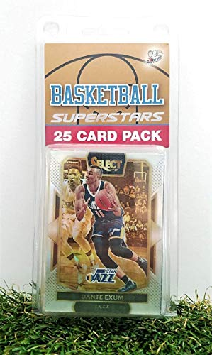 Utah Jazz- (25) Card Pack NBA Basketball Different Jazz Superstars Starter Kit! Comes in Souvenir Case! Great Mix of Modern & Vintage Players for the Ultimate Jazz Fan! By 3bros