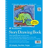 """Strathmore STR-27-408 30 Sheet Kids Story Drawing Pad, 8.5 by 11"""""""