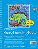 Strathmore 27-408 100 Series Youth Story Drawing Book, 8.5