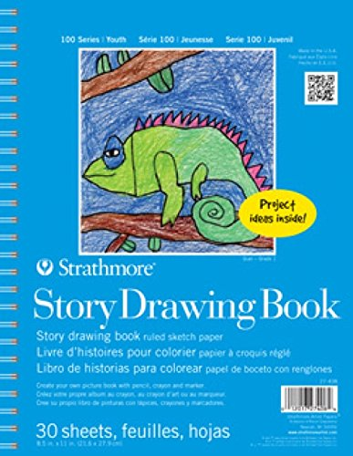 (Strathmore Kids 100 Series Youth Story Drawing Book, 8-1/2 x 11 Inches, White, 30 Sheets)