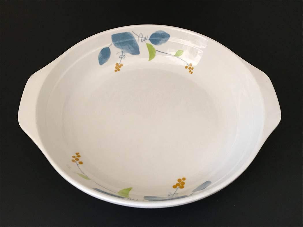 Lucky Star Melamine Round Soup Plate Dish with 2 Side-Handle, 7.7'' (16 oz), 8.7'' (28 oz), 10'' (38 oz), IM Series (6, 10'' (38 oz))