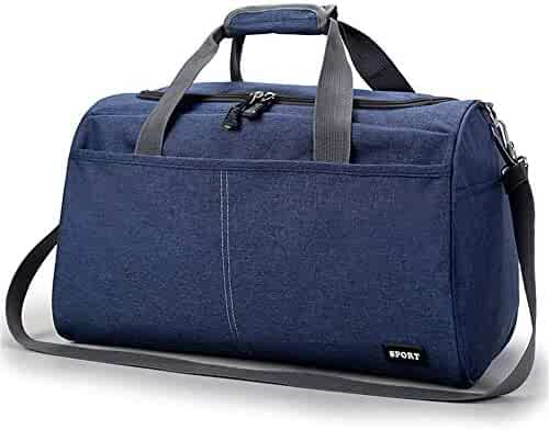 AHOMY Sports Gym Bag Expression Sad Cry Duffel Bag Travel Shoulder Bag