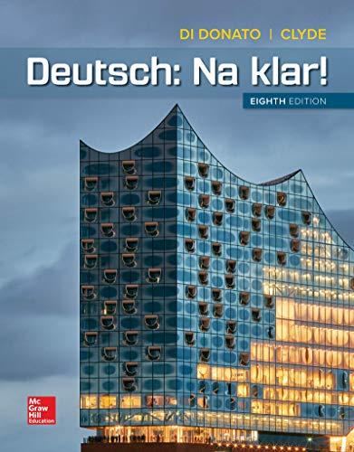 Loose Leaf for Deutsch: Na klar!