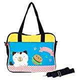 [Pretty Kitten] Embroidered Fabric Art Tote Bag Swingpack (13.411.62.7)
