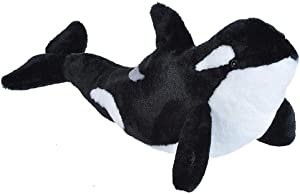 Wild Republic Orca Plush, Stuffed Animal, Plush Toy, Gifts for Kids, Cuddlekins, 20 inches