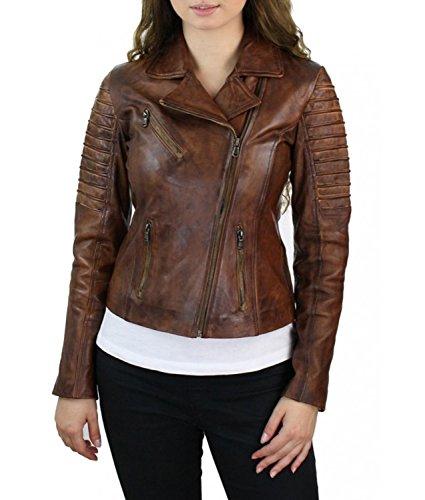 Brown Biker Jacket - 9