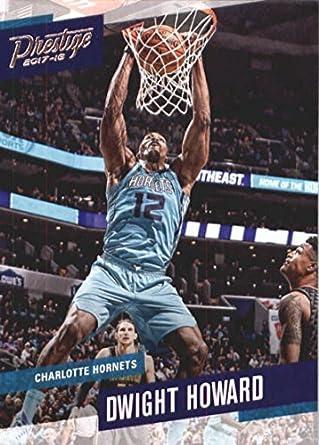 5563603d0cc 2017-18 Panini Prestige  47 Dwight Howard Charlotte Hornets Basketball Card