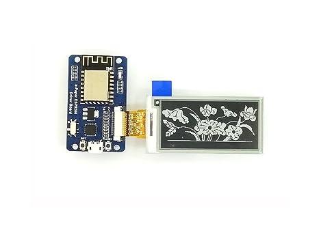 Amazon com: 2 13 Inch e-Paper Display HAT E-Ink Screen LCD