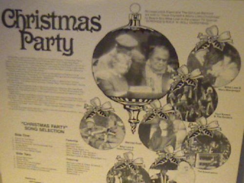 CHRISTMAS PARTY 33 1/3 LP RECORD 1983 RELEASE WITH MARY MACGREGOR, PAUL REVERE, THE ASSOCIATIO, BOBBY GOLDSBORO, THREE DOG NIGHT, MIKE LOVE, MERRILEE RUSH (Christmas Love Mike Party)