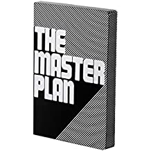 Nuuna Graphic L The Master Plan Smooth Bonded Leather Notebook - Black