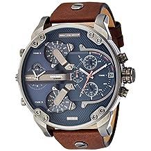 Diesel Men's DZ7314 The Daddies Series Analog Display Analog Quartz Brown Watch