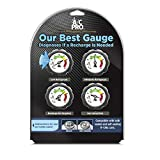 AC Pro Car Air Conditioner Hose and Gauge Dispenser for R134A Refrigerant, Recharge Kit for Cars & Trucks & More, Reusable, 24 in, ACP410-4