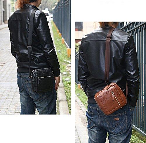 lqt, hombre bolsa de hombro Braun 2