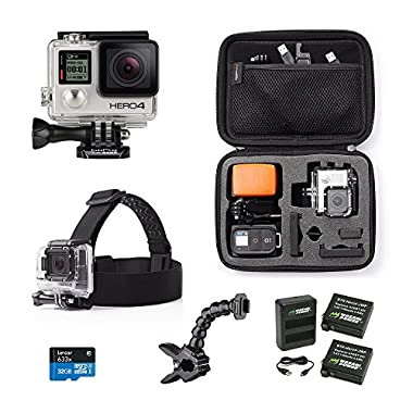 GoPro HERO4 SILVER Holiday Bundle
