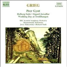 Grieg - Orchestral Music: Peer Gynt, Holberg Suite, Sigurd Jorsalfar, Wedding Day at Troldhaugen. (1997-06-05)