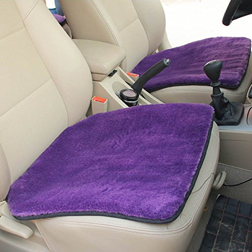 Price comparison product image Plush Car Cover Elaco Protector Driver Chair Pad Wool Winter Seat Cushion Auto Warm (G)