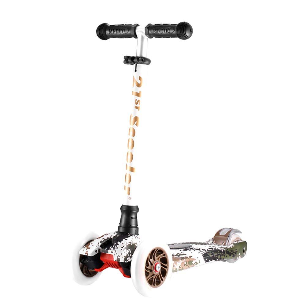 HH スクーター 4輪フラッシュ付きのキックスクーター、3歳以上の子供向けのクラシックスクーター、ランドサーファースポーツアウトドア   B07KX35JP8