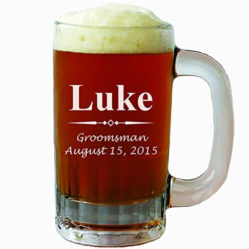 Custom Beer Mugs Personalized Groomsmen product image