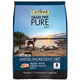 CANIDAE Grain Free PURE Sky Dog Dry Formula with Fresh Duck, 4 lbs